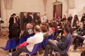 Scrittori e scritture in Castello. Incontri di drammaturgia contemporanea presso il Castello di San Pietro di Ragogna, Udine. Anna Givani.