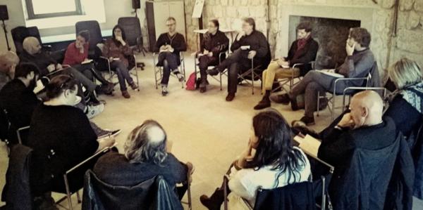 Laboratorio di drammaturgia Castello di Ragogna Udine