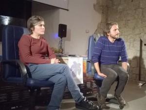 Scrittori e scritture in Castello. Incontri di drammaturgia contemporanea presso il Castello di San Pietro di Ragogna, Udine. Andrea Collavino. Sarah Chiarcos.