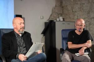 Scrittori e scritture in Castello. Incontri di drammaturgia contemporanea presso il Castello di San Pietro di Ragogna, Udine. Carlo Tolazzi. Massimo Somaglino.