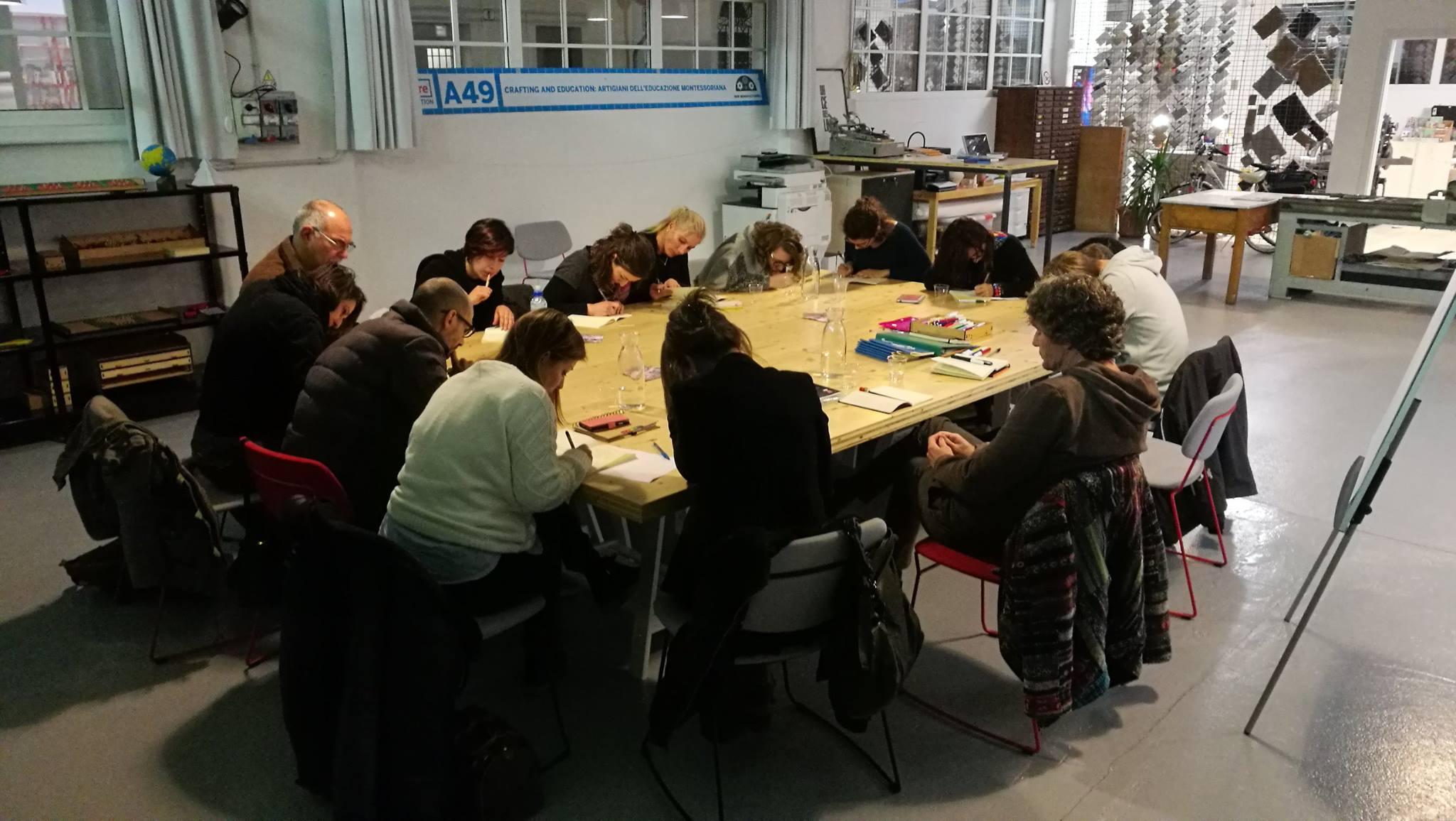 Laboratorio scrittura udine