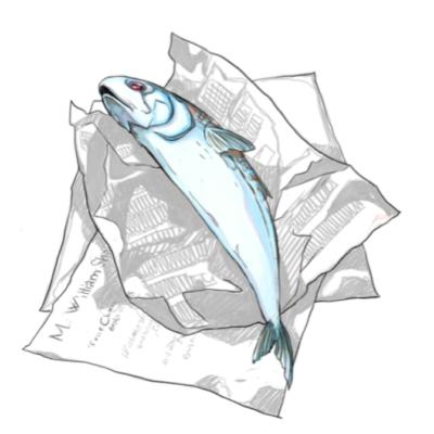 L'Odissea di un pescivendolo