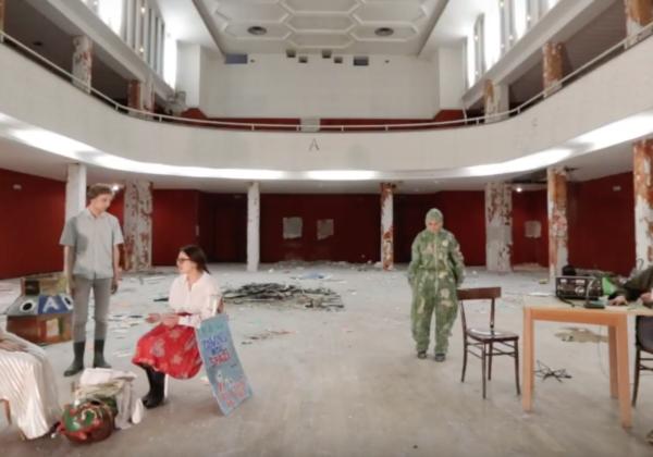 Voci da una demolizione | ultimo spettacolo al Teatro Ciconi
