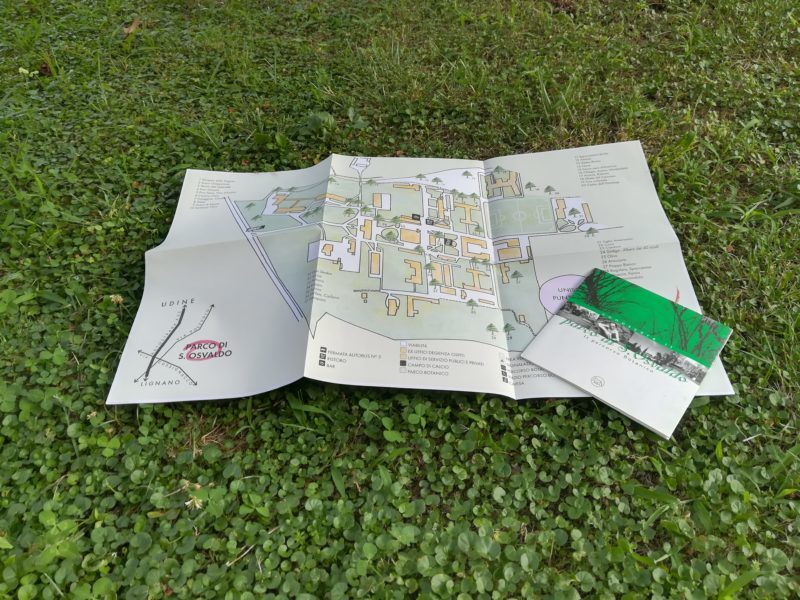 Passeggiata Storico Botanica Parco Sant'Osvaldo Udine
