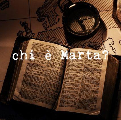 Dentro la scrittura | L'intuizione iniziale | Progetto Marta (1)