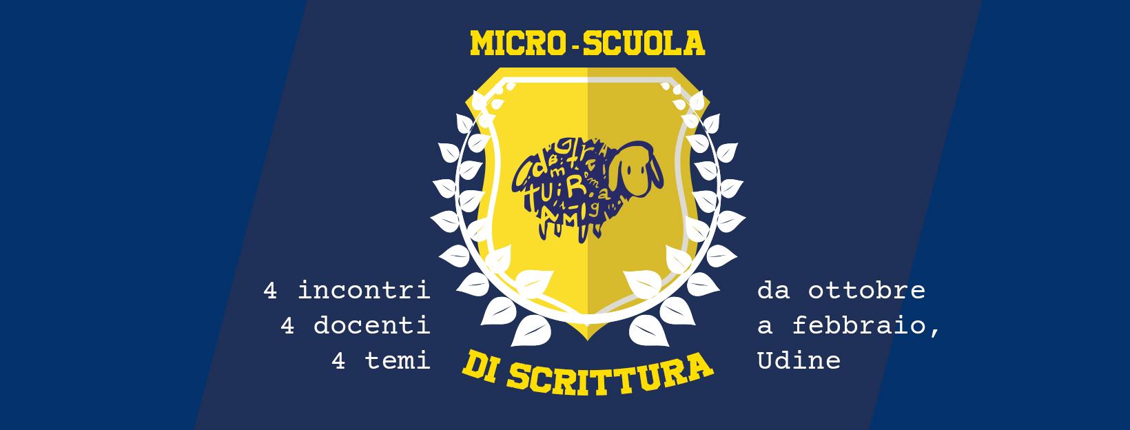 Micro scuola scrittura matearium Udine